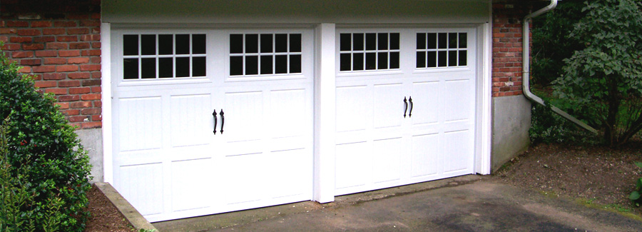 Garage Door Wooden White